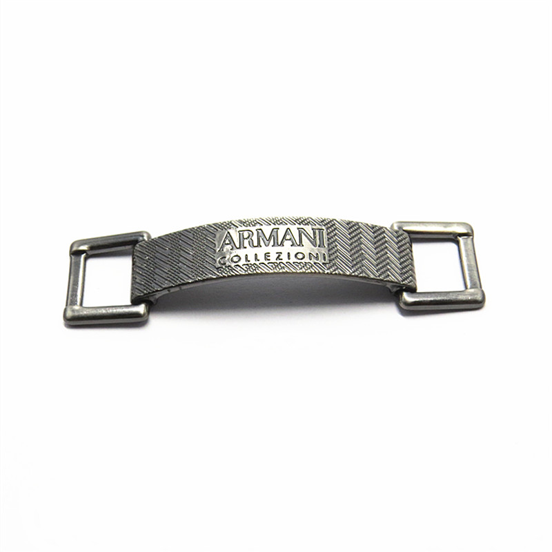 Metal Zinc Alloy GunMetal Shoe Buckle Clips