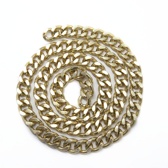 Iron Metal Gold Cut Chain Bag Part Accessories