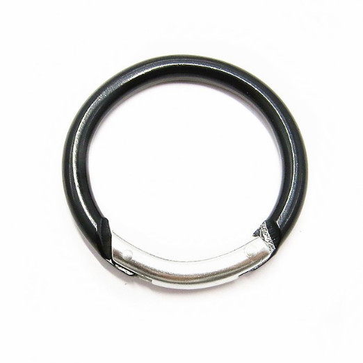 49MM Aluminum Round Carabiner For Dog Leash